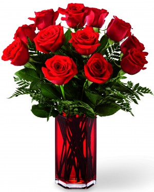 The True Romantic Red Rose Bouquet