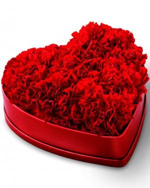 The Heartfelt Carnation Box