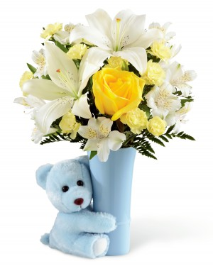 The Baby Boy Big Hug Bouquet