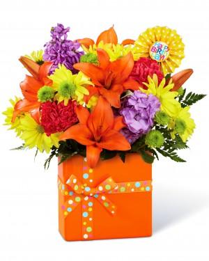 The Set to Celebrate Birthday Bouquet