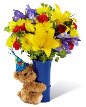 The Big Hug Birthday Bouquet