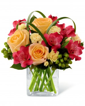 The All Aglow Bouquet