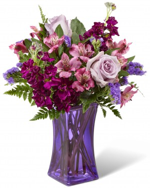 The Purple Presence Bouquet