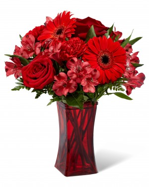 The Red Reveal Bouquet