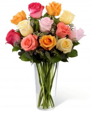 The Graceful Grandeur Rose Bouquet