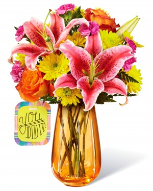 The You Did It! Bouquet by Hallmark
