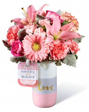 The  Sweet Baby Girl Bouquet by Hallmark