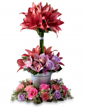 The Towering Beauty Arrangement