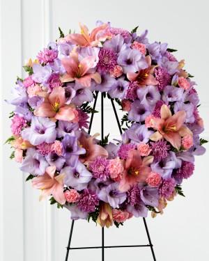 The Sleep in Peace Wreath