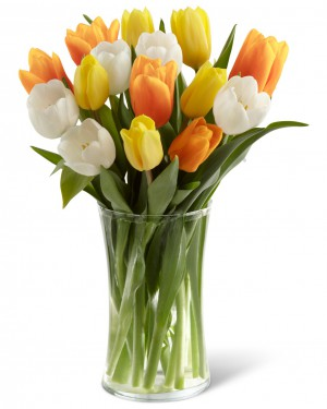 Bright Smiles Tulip Bouquet